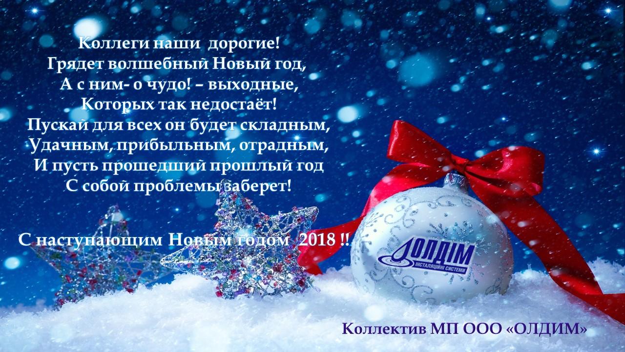 Новый Год 2018 1